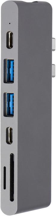 EPICO USB Type-C PRO Hub Multi-Port - space grey/black