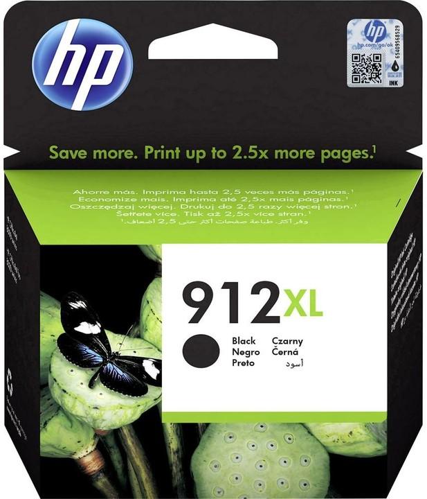 HP 3YL84AE č. 912XL, černá