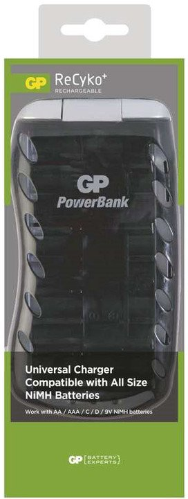 GP PB19 nabíječka AA/AAA/C/D/9V, 6-17hod, inteligentní