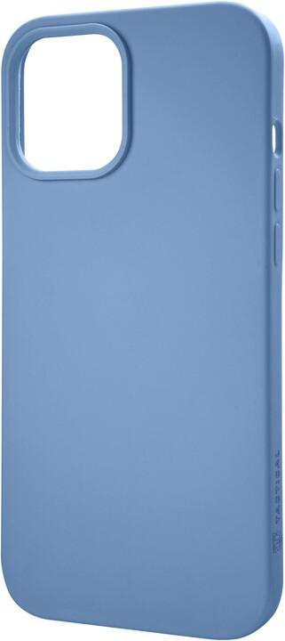 """Tactical silikonový kryt Velvet Smoothie pro iPhone 12 Pro Max (6.7""""), světle modrá"""