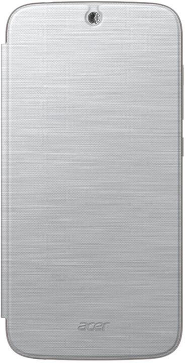 Acer Z630 flipové pouzdro, stříbrná