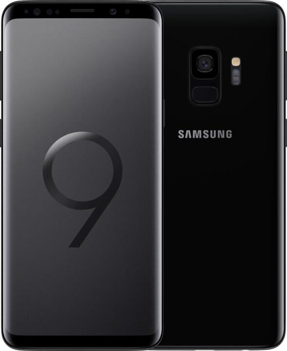 Samsung Galaxy S9, 256GB, Dual SIM, černá
