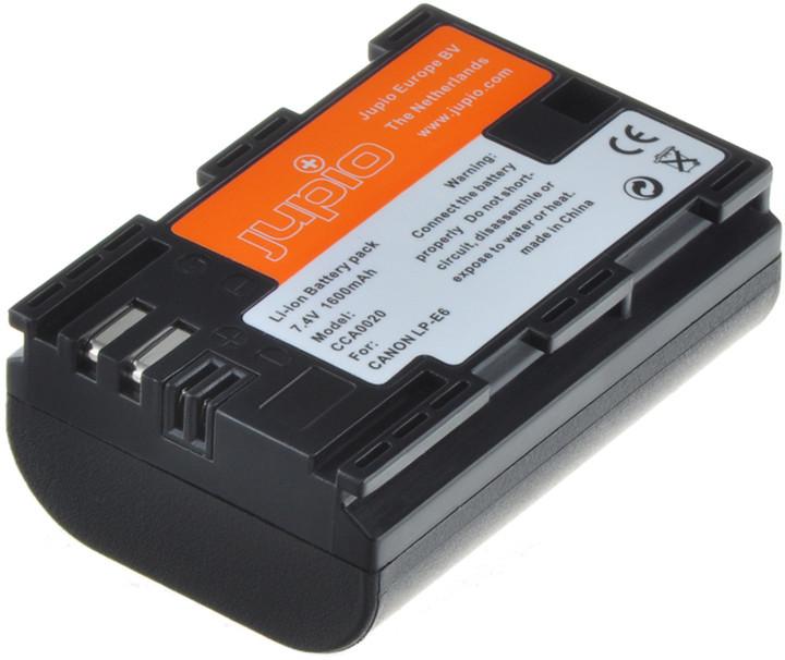 Jupio LP-E6 /NB-E6 Chip akumulátor pro Canon