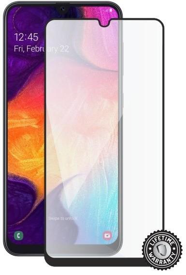 Screenshield ochrana displeje Tempered Glass pro Samsung Galaxy A50 (A505), (full COVER), černá