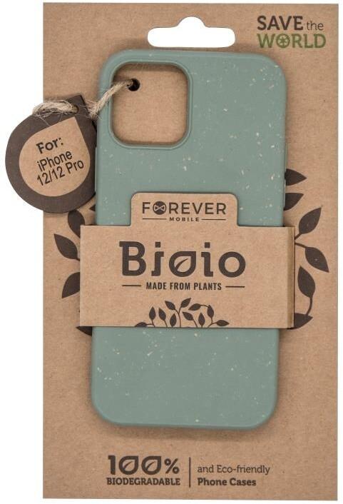 """FOREVER zadní kryt Bioio pro iPhone 12/12 Pro (6.1""""), zelená"""