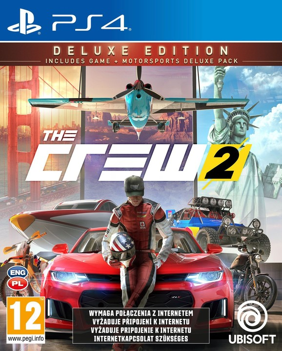 The Crew 2 - Deluxe Edition (PS4)