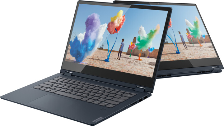 Lenovo IdeaPad C340-14IML, modrá + dotykové pero