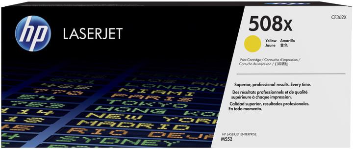 HP 508X, žlutá