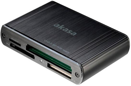 Akasa AK-CR-08BK, USB3.0, externí