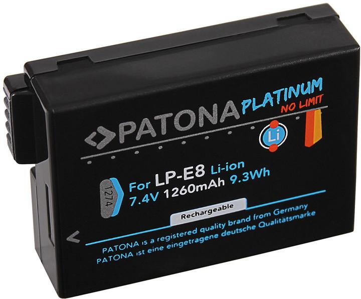 Patona baterie pro foto Canon LP-E8 1260mAh Li-Ion Platinum