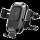 Baseus bezdrátová nabíječka Smart do auta, černá