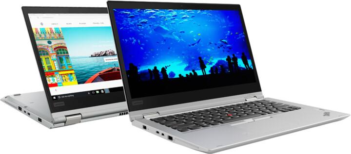 Lenovo ThinkPad X380 Yoga, stříbrná