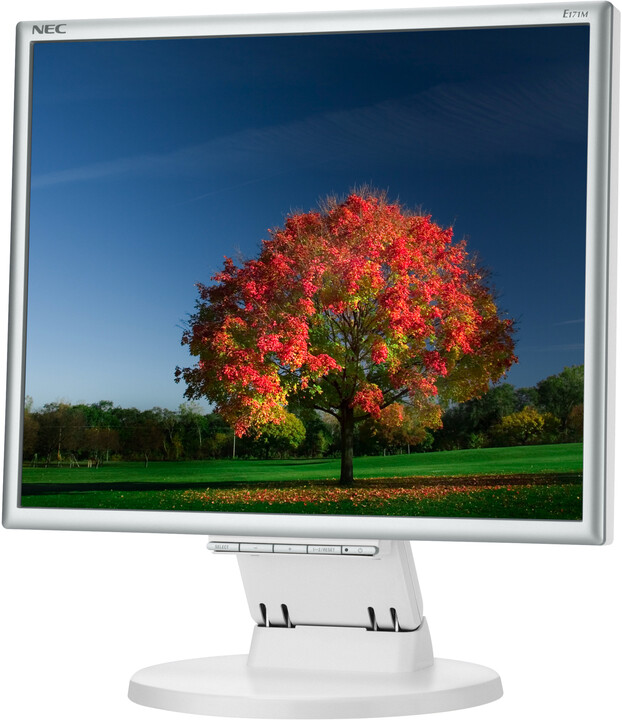 "NEC MultiSync E171M, bílá - LED monitor 17"""