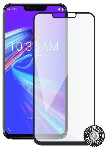 Screenshield ochrana displeje Tempered Glass pro ASUS Zenfone Max M2, full cover, černá