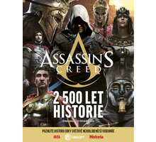 Kniha Assassins Creed – 2500 let historie - 9788075657817