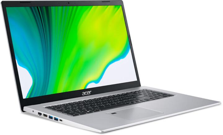 Acer Aspire 5 (A517-52-57C9), stříbrná