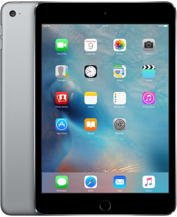Apple iPad Mini 4, 128GB, Wi-Fi, šedá