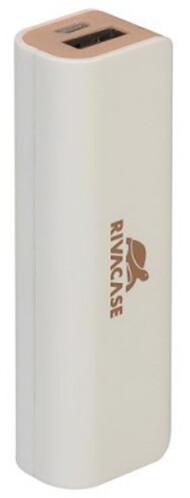 RivaCase RIVAPOWER VA2002, 2600mAh, bílá/zlatá