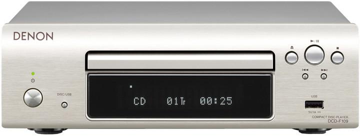 Denon DCD-F109, stříbrná