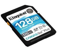 Kingston SDXC Canvas Go! Plus 128GB 170MB/s UHS-I U3 - SDG3/128GB