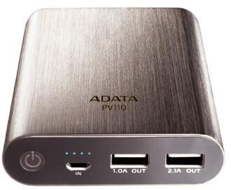 ADATA PV110, 10400mAh, titanium