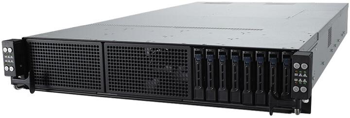 "ASUS RS720Q-E9-RS8-S, C621, 12GB RAM, 8x2,5"" SATA, 1600W"