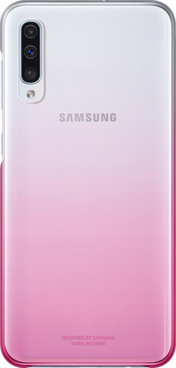Samsung Gradation zadní kryt pro Samsung A505 Galaxy A50, růžová