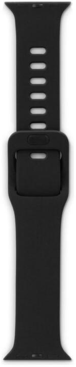 EPICO silikonový řemínek pro Apple Watch 42/44mm, černá