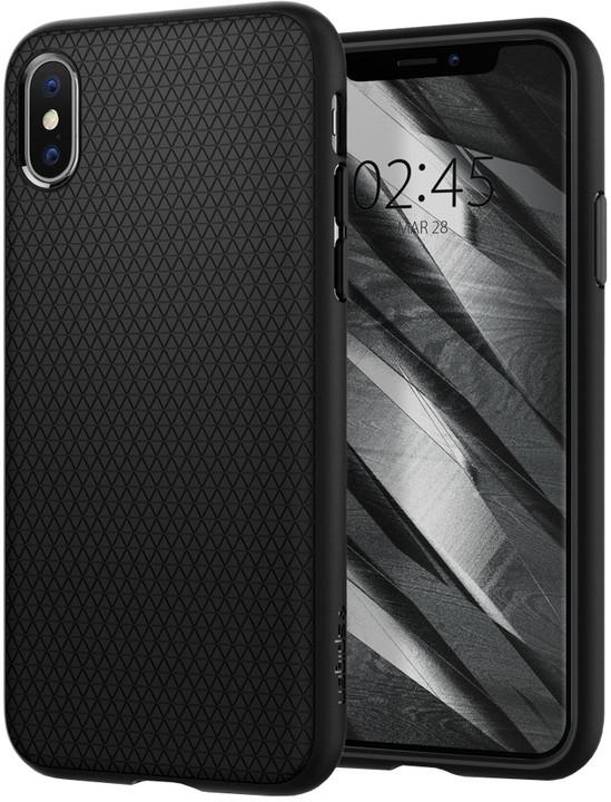 Spigen Liquid Air iPhone Xs/X, black