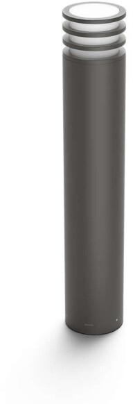 Philips venkovní sloupek Hue Lucca E27, LED, 9.5W, IP44, antracit
