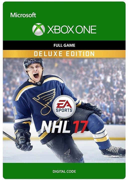 NHL 17: Deluxe Edition (Xbox ONE) - elektronicky