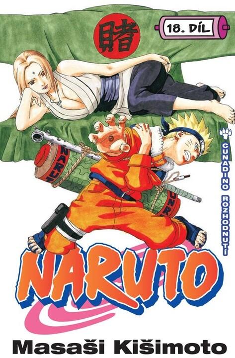 Komiks Naruto: Cunadino rozhodnutí, 18.díl, manga