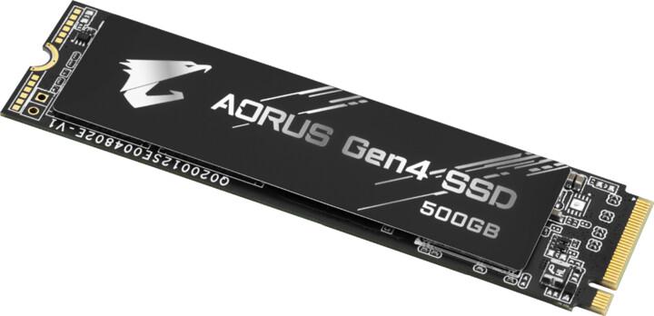 GIGABYTE AORUS Gen4, M.2 - 500GB