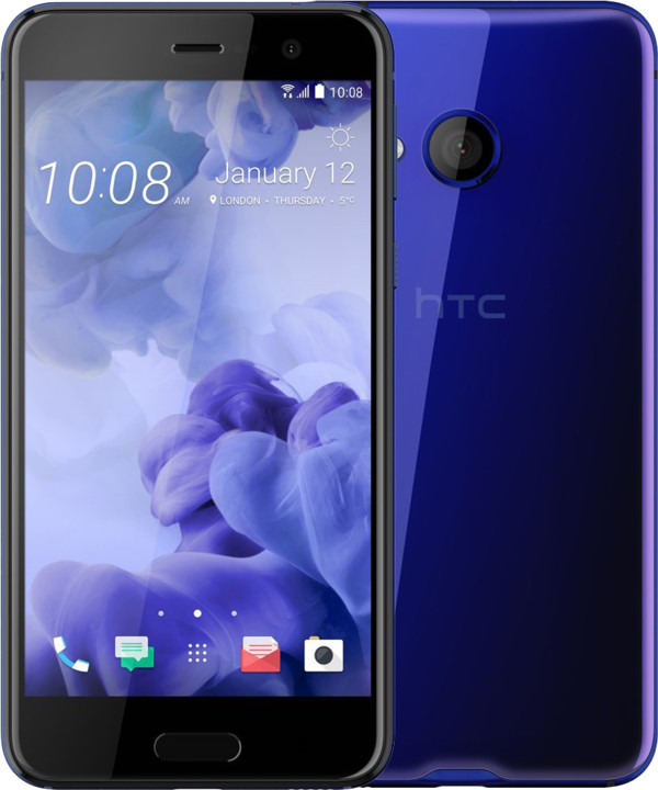 HTC U PLAY, modrá