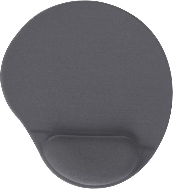 Gembird Ergo, šedá, ergonomická