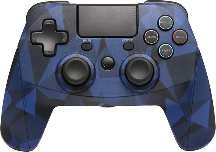 Snakebyte Game:Pad 4 S, bezdrátový, modré camo (PS4)