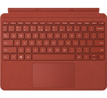 Microsoft Type Cover pro Surface Go, ENG, červená - KCS-00090