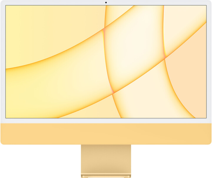 "Apple iMac 24"" 4,5K Retina M1 /8GB/256GB/8-core GPU, žlutá"