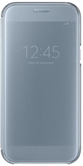 Samsung Galaxy A5 2017 (SM-A520C), flipové pouzdro, Clear View, modré