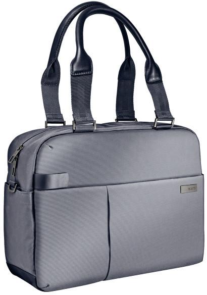 Leitz Complete dámská taška na notebook, stříbrná