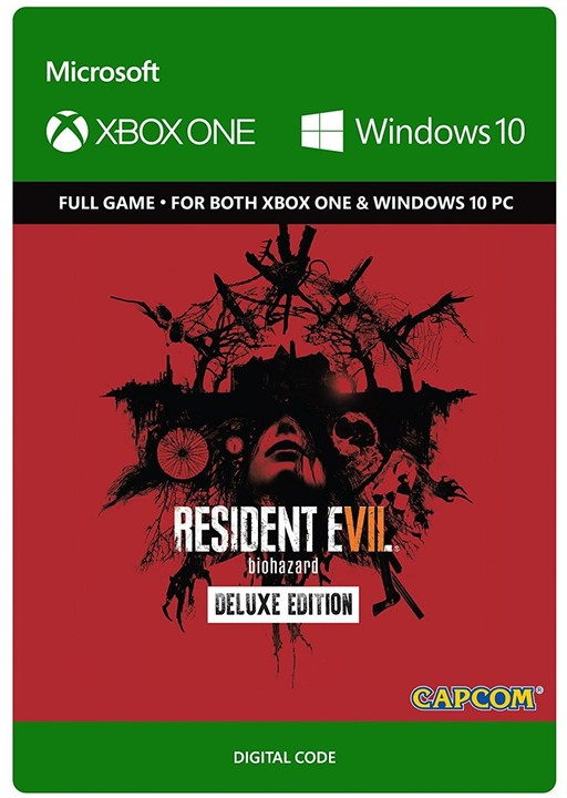 Resident Evil 7 Biohazard: Deluxe Edition (Xbox Play Anywhere) - elektronicky