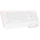 CONNECT IT CKM-7801, bílo-růžová
