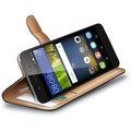 CELLY Wally Pouzdro typu kniha pro Huawei P8 Lite Smart, PU kůže