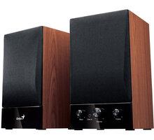 Genius SP-HF 1250B Ver. II, 2.0, dřevěné - 31730011400