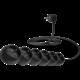 CONNECT IT prodlužovací kabel 230 V, 6 zásuvek, 3 m, bez vypínače, černá