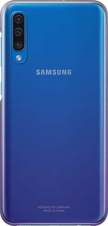 Samsung Gradation zadní kryt pro Samsung A505 Galaxy A50, fialová (violet)