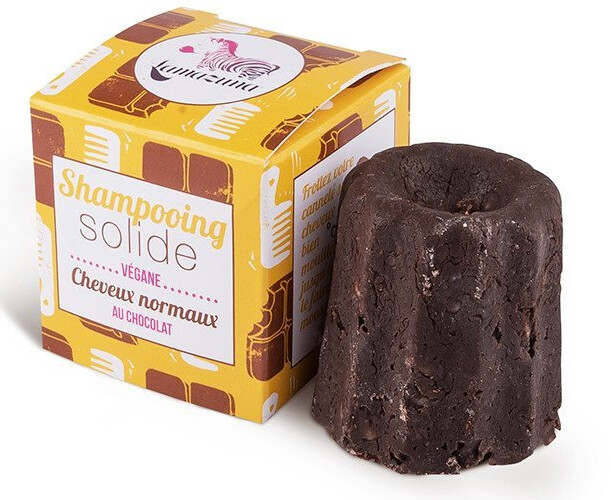 Šampon Lamazuna, pro normální vlasy, tuhý, čokoláda, 55 g