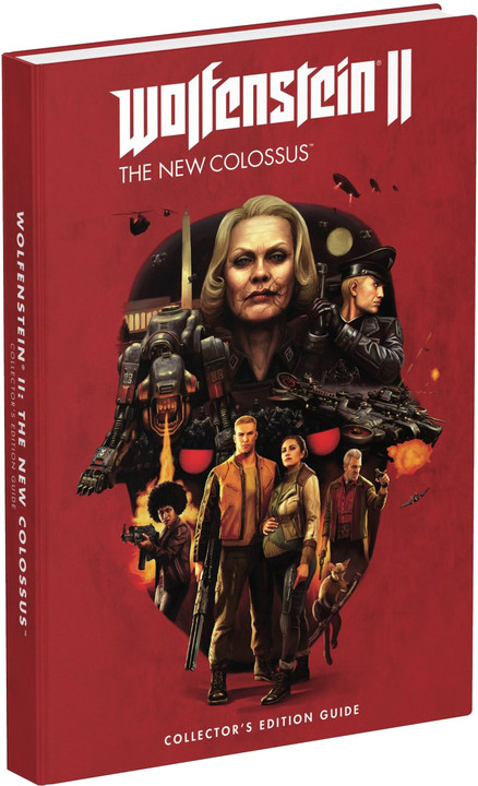 Oficiální průvodce Wolfenstein II: The New Colossus - Collectors Edition (EN)