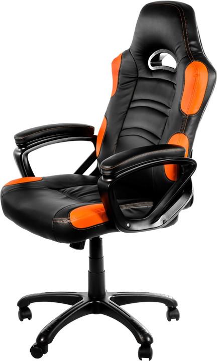Arozzi Enzo, černá/oranžová