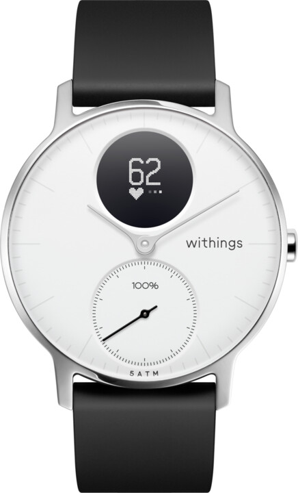Withings Steel HR (36mm) - bílá